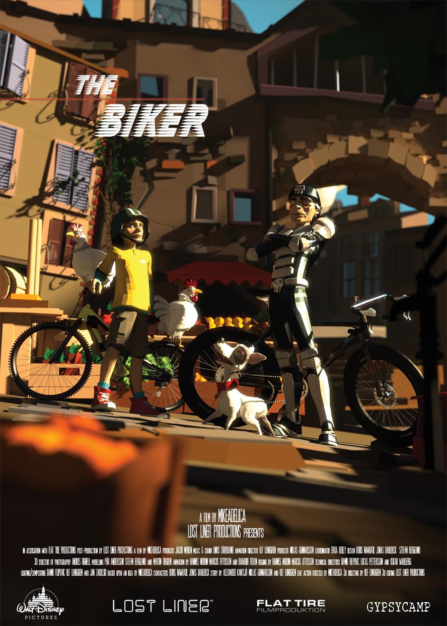 Disney – The Biker