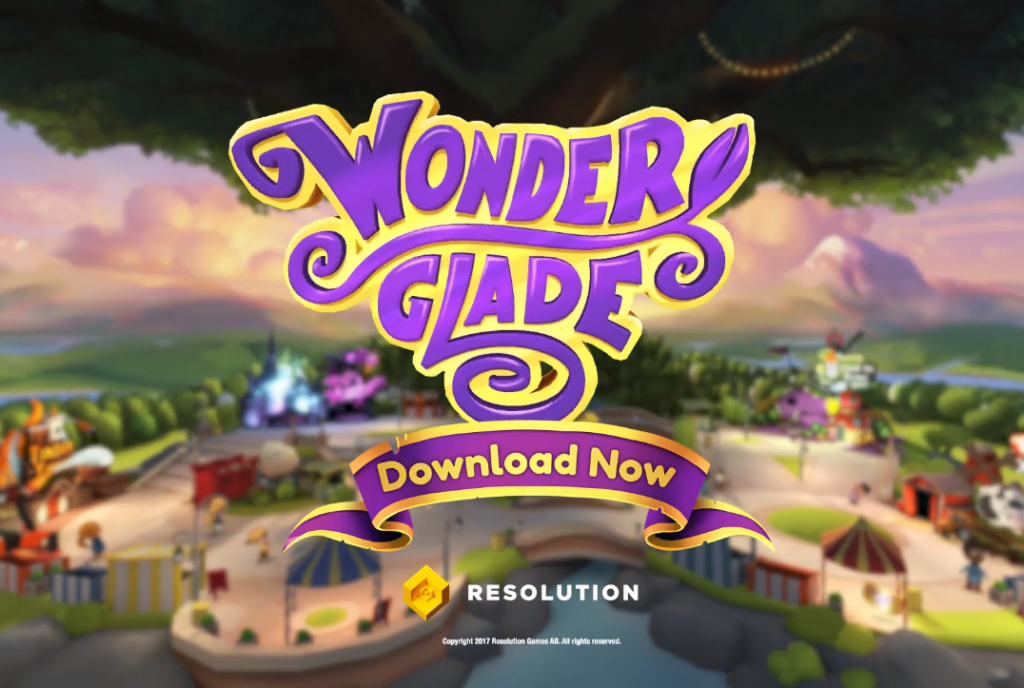 Wonderglade Trailer Resolutiongames