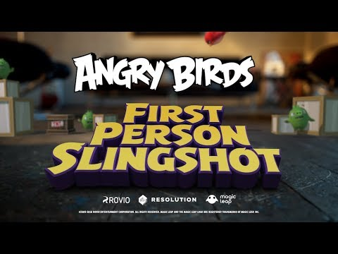 Angry Birds FPS: First Person Slingshot – Trailer