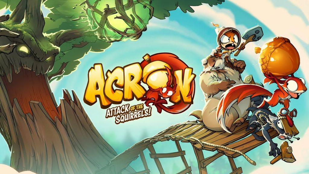 Acron – Attack Of The Squirrels Launch Trailer
